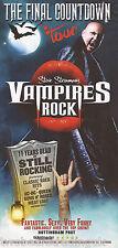 Event Promo Flyer: Steve Steinman's Vampires Rock - The Final Countdown Tour