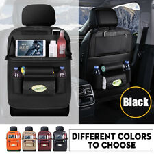 Car Seat Back Leather Kids Organizer Tidy Pocket Storage BagHolder Table Travel