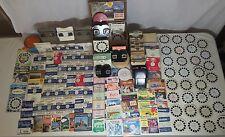 711PC Vintage Viewmaster LOT Reel Viewer US Foreign Travel Disney Bakelite RARE
