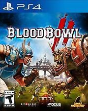 BLOOD BOWL II PS4! BRUTAL STRATEGY WARHAMMER WORLD FOOTBALL! MADDEN GONE WILD!