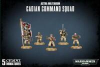 Cadian Command Squad - Astra Militarum (Warhammer 40k)