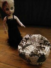 Doll Bean Bag Beanbag Chair Small for dolls 8-13 inches living dead barbie BRATZ