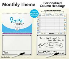 PenPal Planner - TRY SOMETHING NEW - Personalised Calendar & Dry Wipe Noteboard
