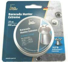 H&N SPORT BARACUDA HUNTER EXTREME .22 Hp 18.52 Fast Hot Air Gun PELLETS (200 ct)
