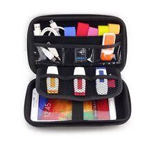 External Hard Drive Disk/Electronics Cable Organizer Bag/Camera/Mp5 HDD Box Case
