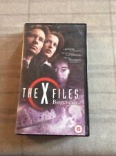 THE X FILES BIOGENESIS VHS VIDEO FROM 2000