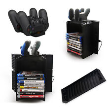 Multifunctional Storage box Stand Charging Dock Station for PS4 Games Controller