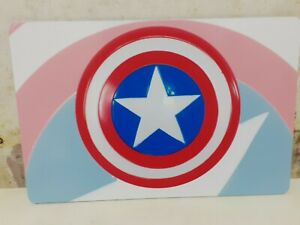 MARVAL CAPTAIN AMERICA SHIELD WALL PLAQUE/PLACEMAT