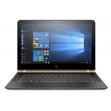 Windows 10 Pro HP Spectre 13 FHD Core i7 SSD Dark Luxe Copper Rose Gold Laptop
