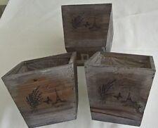 eBay & Square Wooden Flower \u0026 Plant Pots Boxes for sale | eBay