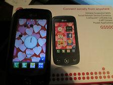 LG GS 500 OVP Display Touch simfrei pacchetto accessori super ok Gebr 56k