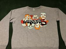 New listing Sweet Maroon 5 Adam Levine sweatshirt fleece concert tour shirt