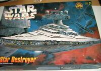 Star Wars Imperial STAR DESTROYER   Model kit  complete  AMT  1997   D62