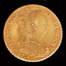 BRESIL MARIA I (1786-1816) - 6400 REIS OR 1801 R RIO DE JANEIRO