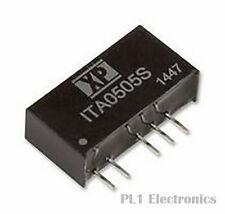 XP POWER    ITA2405S    Isolated Board Mount DC/DC Converter, Through Hole, 1W,