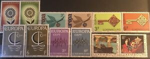 Luxembourg, Europa issues, 6 Sets. MNH. Perfect.