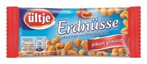 (9,99€ / 1kg) Ültje Erdnüsse ohne Fett geröstet pikant gewürzt 20 x 50g = 1kg