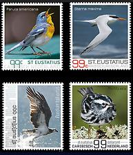 S 281 ++ CARIBISCH NED. 2017 ST. EUSTATIUS BIRDS MNH POSTFRIS **