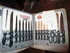 SLITZER Germany 17 Piece Knife Set in Hard shell Carry Case