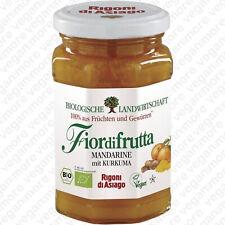 Rigoni di Asiago | Bio Fruchtaufstrich Mandarine mit Kurkuma 260 g | vegan