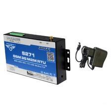 s271 gsm m2m rtu sistema di allarme per monitor remoto sms gprs app eu plug
