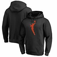 WNBA Gear Fanatics Branded Primary Logo Pullover Hoodie - Black