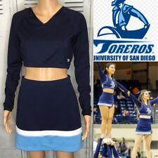 Real Cheerleading Uniform  San Diego University Colors Adult Large