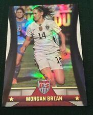 2015 Panini Morgan Brian Foil Rookie Card USWNT USA Soccer RC