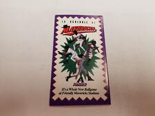 High Desert Mavericks 1997 Minor Baseball Pocket Schedule - Daily Press