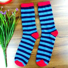 1Pairs Womens Socks Lot Classic Cotton Stripes Casual Dress Socks 21*20cm DWZ135