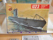 Modelkit Mirage Hobby Submarine U23 Typ II B on 1:400 in Box