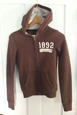 Brown ABERCROMBIE & FITCH HOODIE JACKET  GIRLS LARGE - EUC very nice! 1892