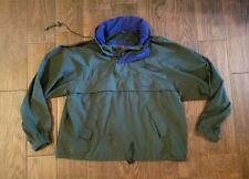 Vintage TIMBERLAND Windbreaker Pullover green Jacket Camping Hike L
