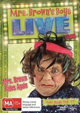 Mrs Brown Rides Again - Live Tour (DVD, 2014) NEW R4 Mrs Brown's Boys Series