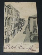 CPA 1902 ITALIE ITALIA FORLI CORSO V. EMANUELE