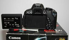 Canon EOS Rebel T4i / 650D Camera body w/AC Charger, 3 battery SHUTTER COUNT 86