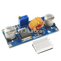 1/2/5/10PCS 5A XL4015 DC-DC Step Down Adjustable Power Supply Module LED Lithium