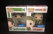 Funko Pop! Caddyshack Carl Spackler & Stripes John Winger Walmart w/protectors