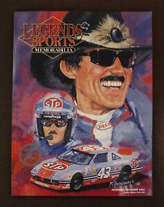 Legends Sports Memorabilia Nov/Dec 1993 Hobby Edition/Cover 54 Richard Petty