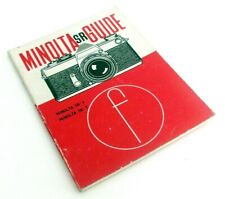 MINOLTA SR GUIDE FOCAL PRESS SECOND EDITION