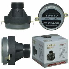 COMPRESSION DRIVER PYRAMID 80 WATTS RMS 150 MAX TWD10 FOR CAR DOORS RACES SPL