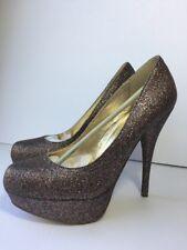 Steve Madden Caryssa Size 8.5 Heels Platform Stiletto Multicolor Glitter Party