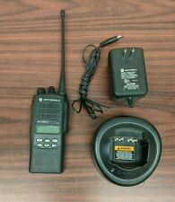 EXCELLENT Motorola HT1250 LS+ UHF 450-512MHz AAH25SDH9DP7AN + Charger & Antenna