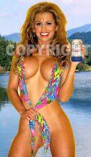 Fridge Magnet Sexy Hamm's Beer Minnesota lake blonde bikini blonde babe bar art