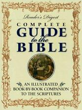 "Readers Digest "" COMPLETE GUIDE TO THE BIBLE ""1998 illustrated book scripture"