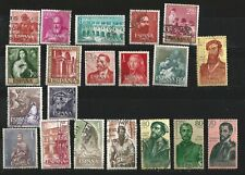 (L013) ESPAÑA - 1960 a 1963 - lote 20 SELLOS diferentes usados - OPORTUNIDAD