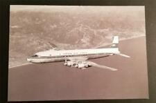 JAPAN AIRLINES JAL Postcard Unused DC-7C City of San Francisco P154