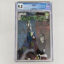 Grendel 1 CGC 9.2 NM- OWTW Pages Origin of Hunter Rose Comico Comics