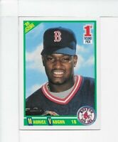 1990 SCORE MO VAUGHN BOSTON RED SOX ROOKIE CARD