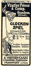 Glockenspiel Schweizer Spezial-Cigarren 1908
